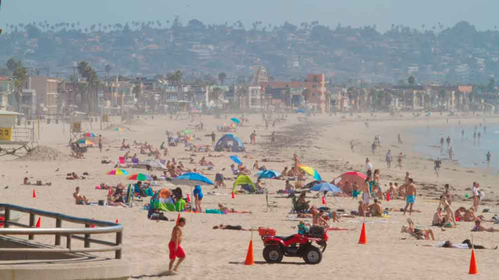 Recibe 600 mil visitantes playas de San Diego en puente del 4 de julio