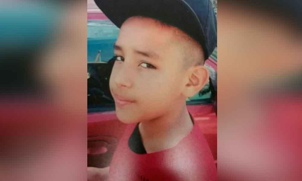Urgente: piden apoyo para localizar a niño de 12 años