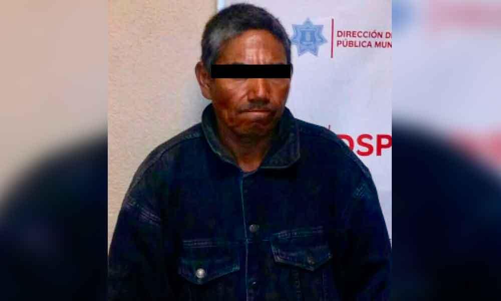 Fue capturado por allanamiento de morada en el fraccionamiento Las Torres