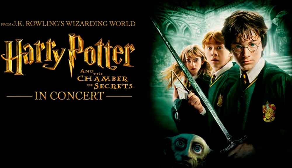 Asiste al gran concierto de Harry Potter y la Cámara de los Secretos en San Diego