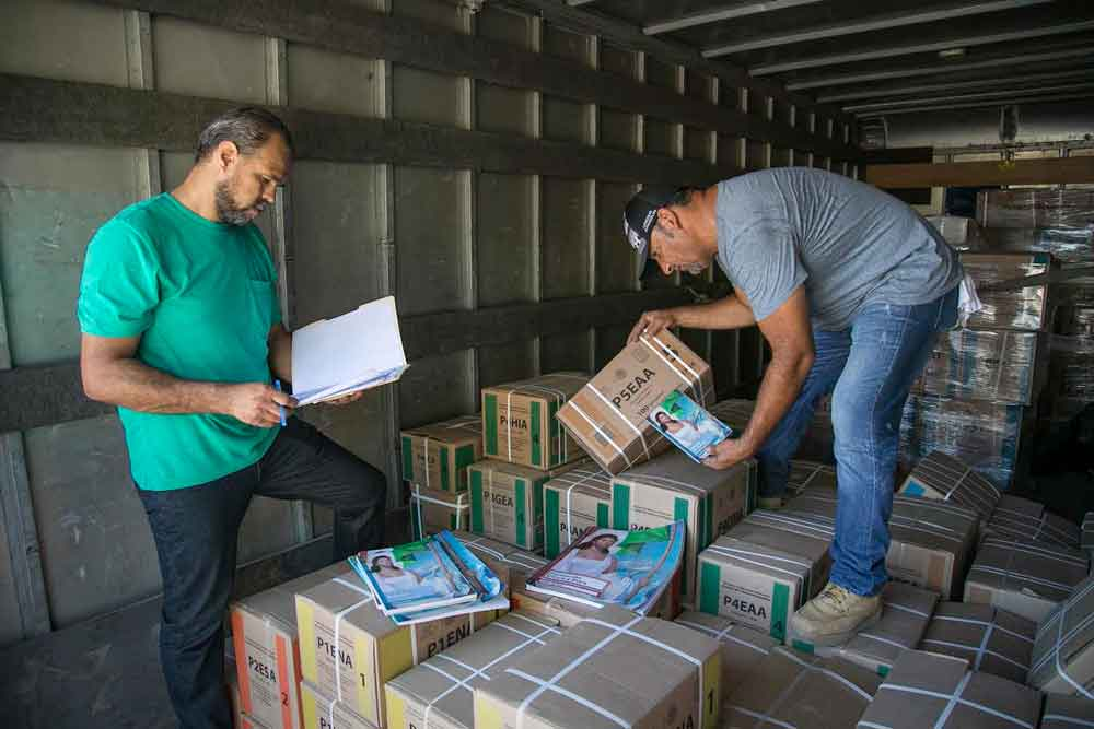 Inicia entrega de libros de texto gratuito en Baja California