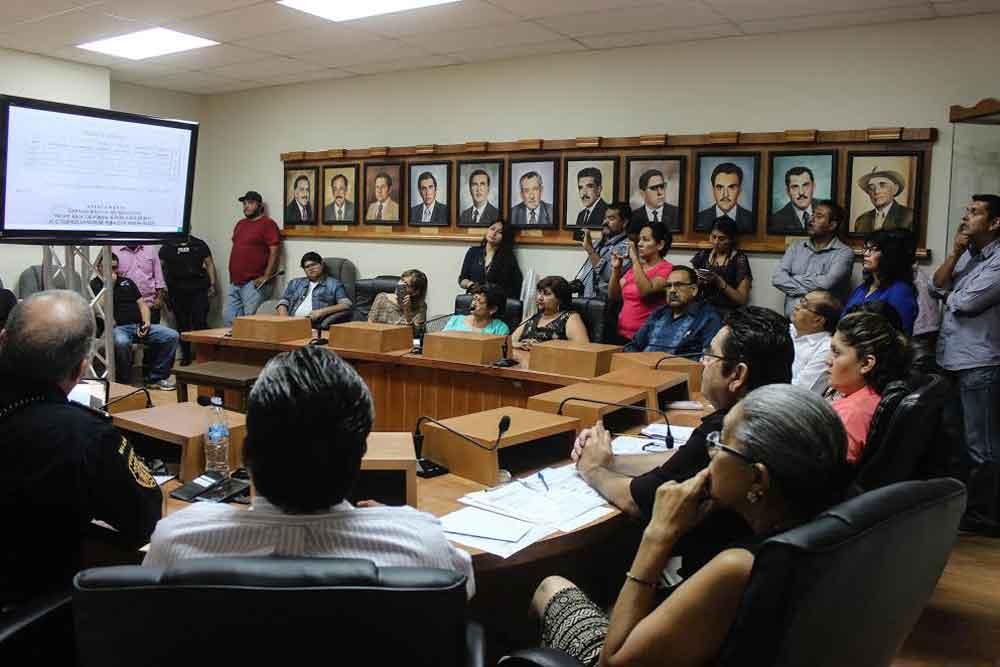 Sesiona la Comisión de Seguridad Ciudadana de Tecate
