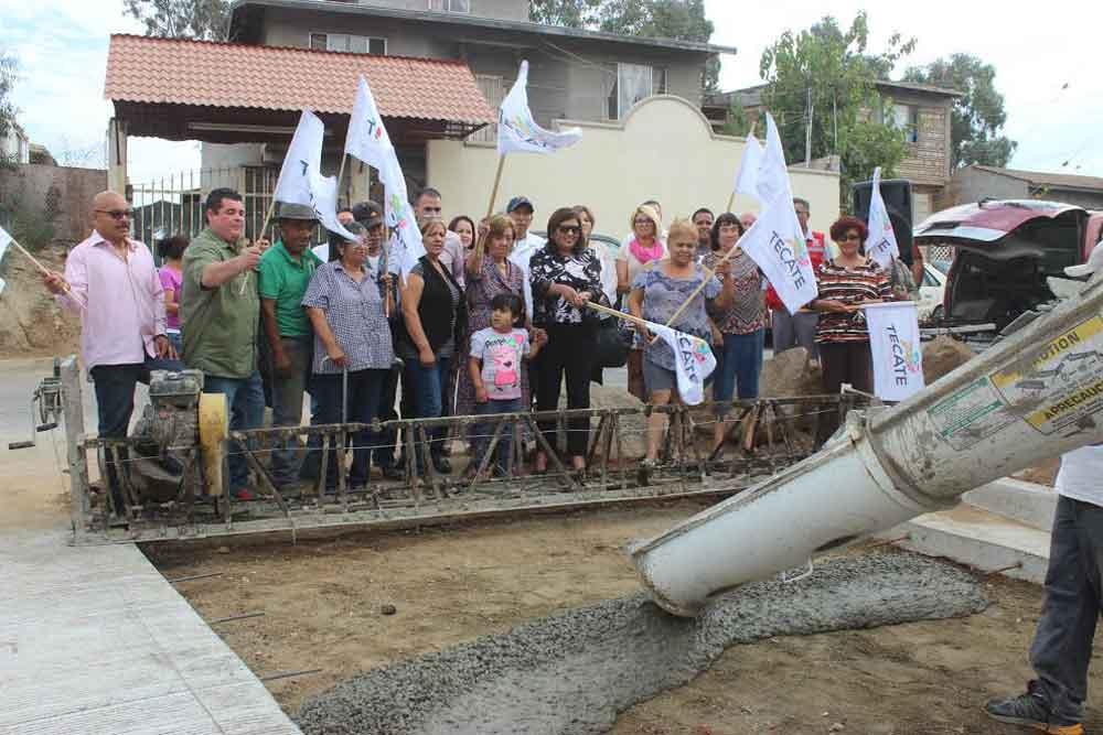 Arranca el Programa de Pavimentación 2017 en Tecate