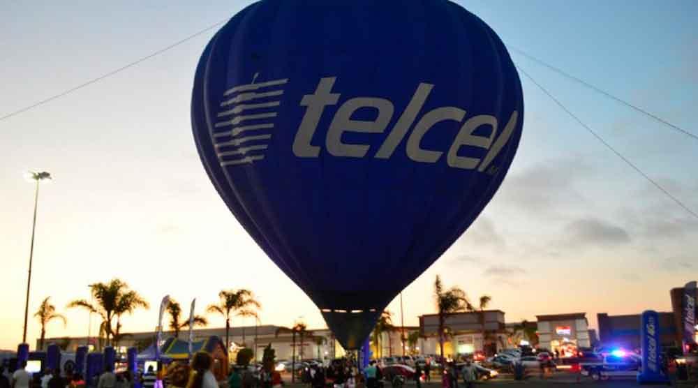 Aterriza en Ensenada globo aerostático de Telcel