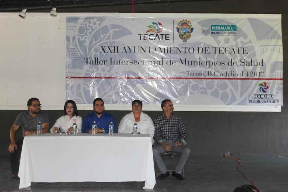 Realizan sesión del Programa de Entornos y Comunidades Saludables