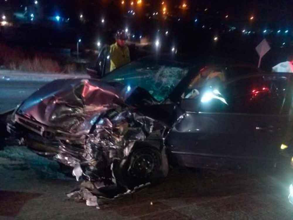 Fatal accidente en Tijuana deja 1 muerto y herido