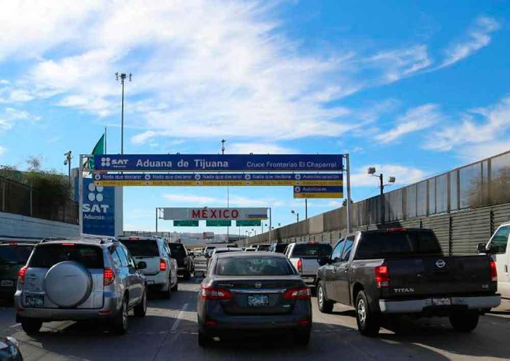 Cerrarán 3 días cruce a México por El Chaparral