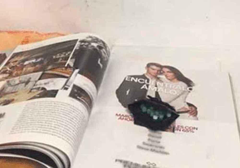 En Tijuana, hallan droga en una revista; fue enviada desde Jalisco