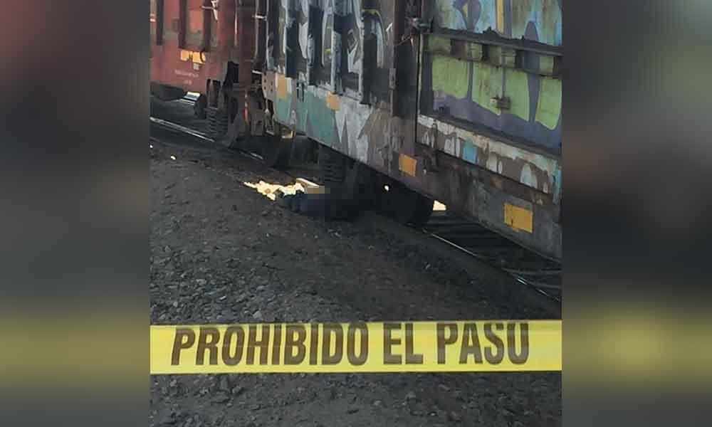 Muere migrante al caer a las vías del tren en Mexicali