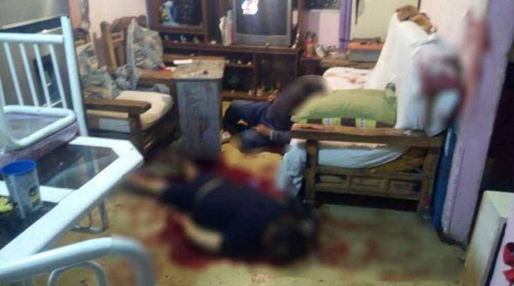 Matan con arma blanca a 4 personas en un domicilio de Coacalco