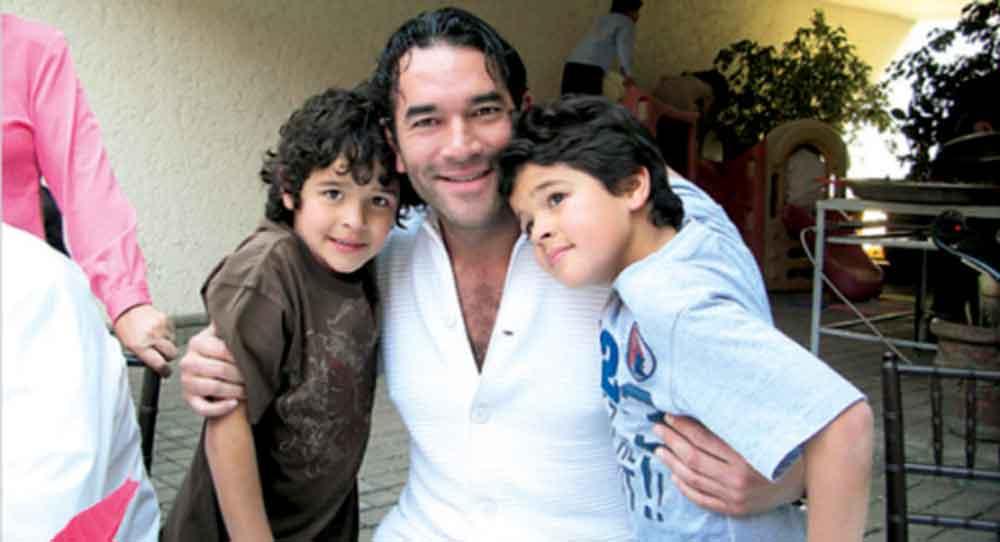 Así lucen actualmente los gemelos de Eduardo Santa Marina e Itatí Cantoral