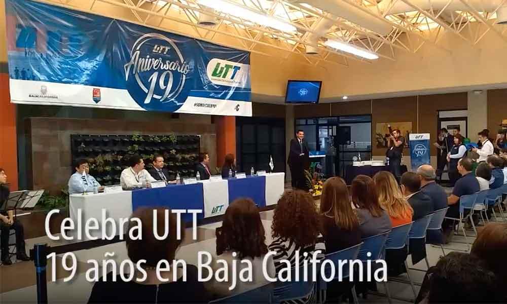 Celebran el 19 aniversario de la Universidad Tecnológica de Tijuana