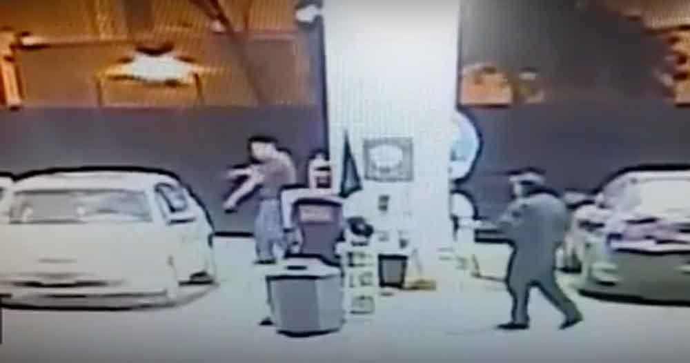 A balazos frustran asalto en gasolinera de Tijuana