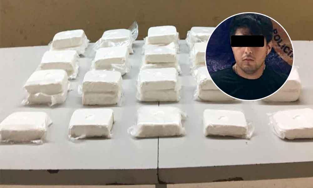 Decomisan en Ensenada 35 kilos de cocaína al Cártel de Sinaloa