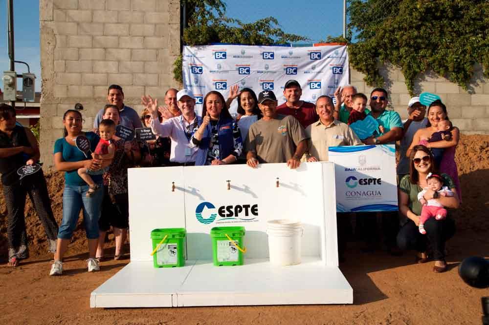 Construyen sistema de agua potable que beneficiará a más de mil habitantes de la zona rural de Tecate