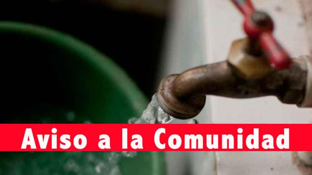 ¡Prepárate! Mañana habrá suspensión de agua en Tecate