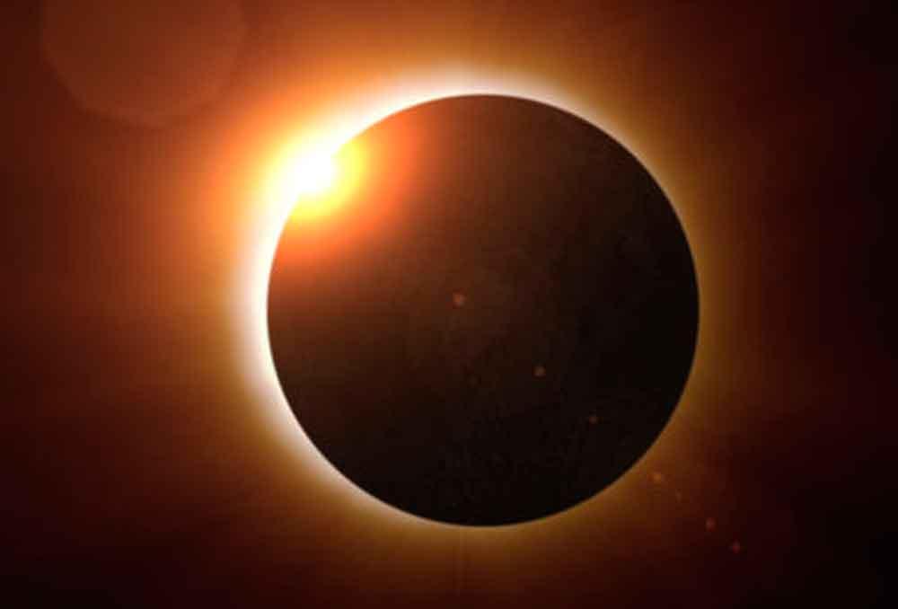 A esta hora se verá el eclipse solar en Baja California