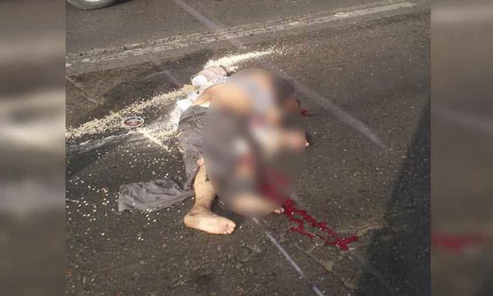 Hombre fue atropellado por un tráiler en Bulevar Díaz Ordaz de Tijuana