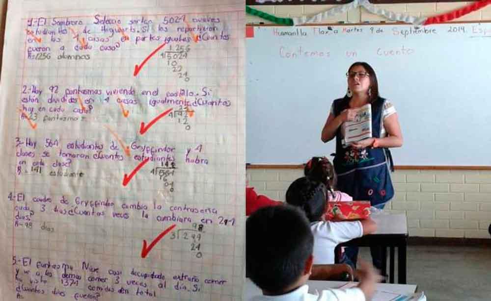 Maestra enseña matemáticas utilizando a Harry Potter