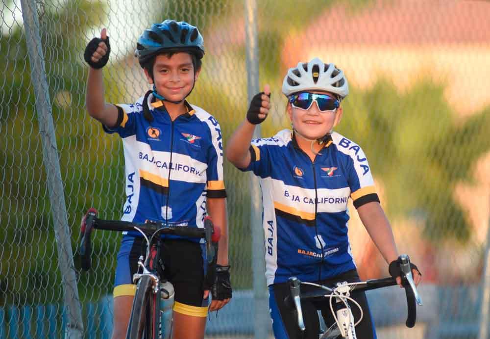 Niños de BC presentes en Nacional de Ciclismo Infantil