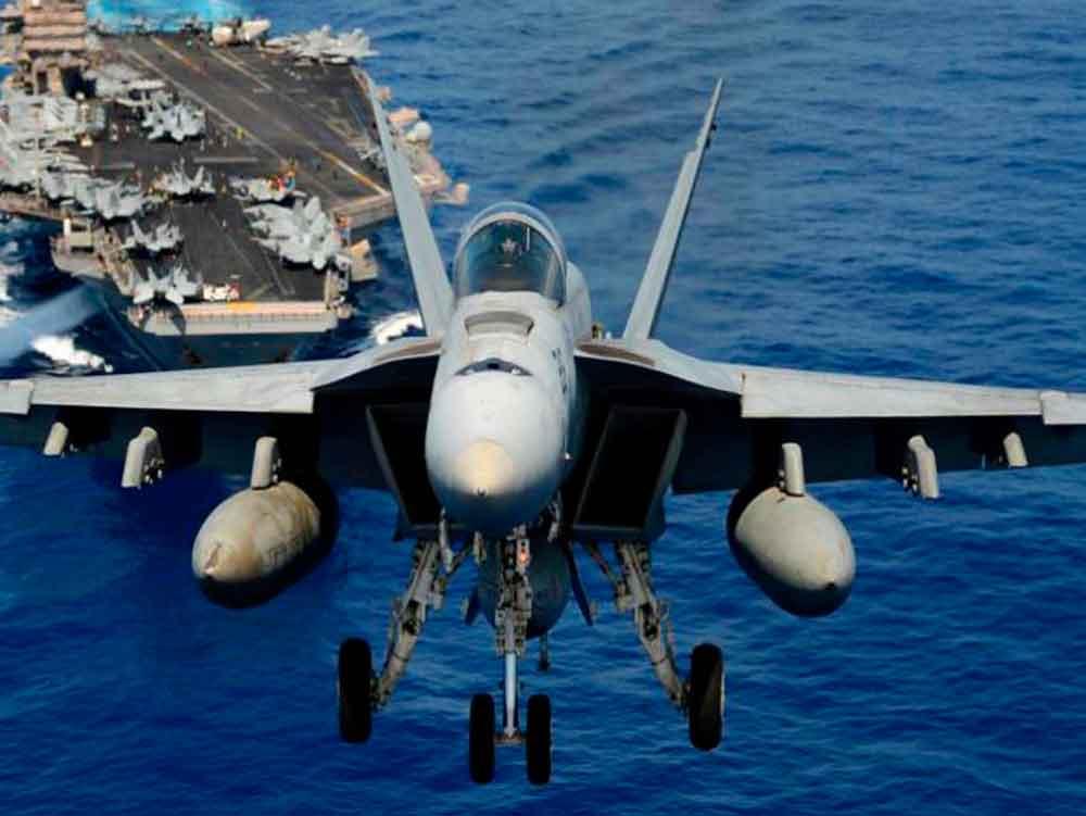 Aviones de EEUU listos para atacar a Corea