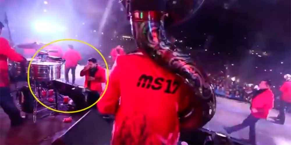Banda MS responde por supuesto consumo de drogas del vocalista