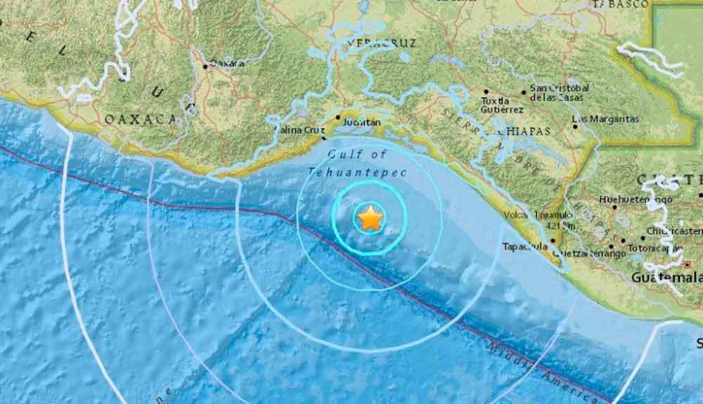 Nuevo sismo de 5.8 grados sacude a Oaxaca este lunes