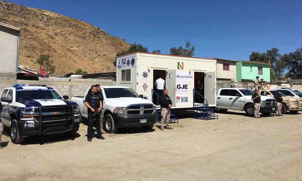Instalan la primera Caseta Móvil de Seguridad en Tecate