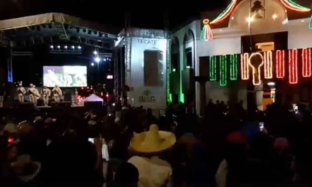 Detienen a 37 por riña durante fiestas patrias en Tecate