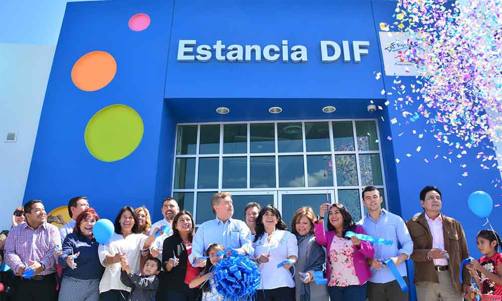 Inaugura Gobernador Francisco Vega estancia infantil en Tecate