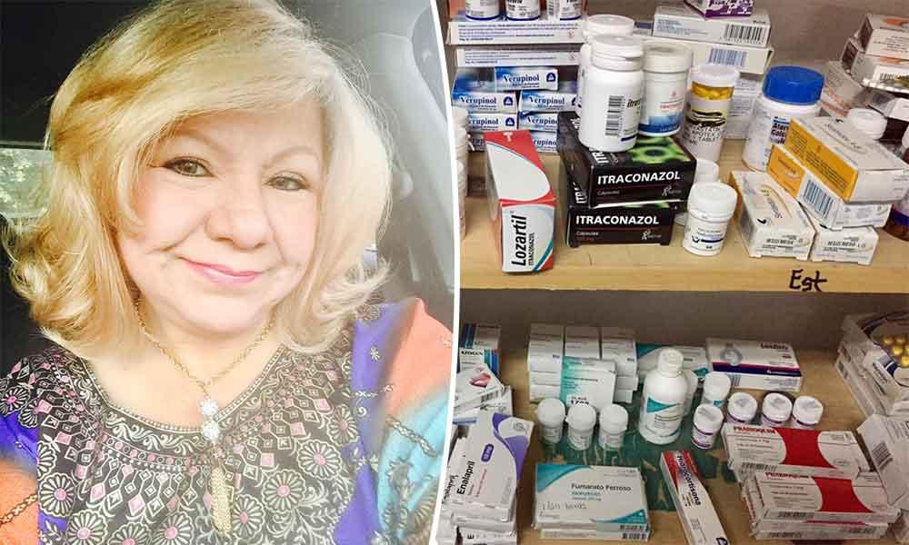 Pedimos su apoyo con donación de medicamentos para damnificados del huracán en La Paz, Baja California: Lic. Marina Calderón