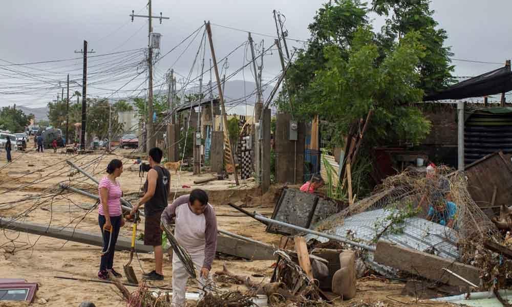 """""""Disponible Centro de Acopio en Tecate para ayudar a víctimas de Lidia en Baja California Sur"""": Lic. Marina Calderón"""