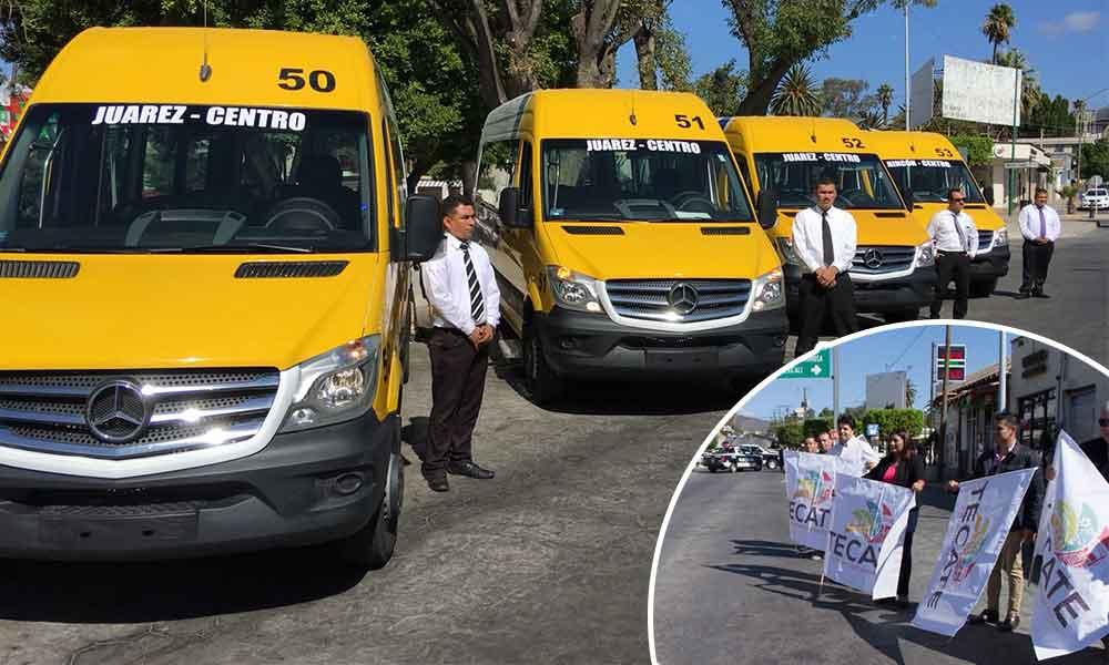 Alcaldesa da el banderazo a nuevas rutas de transporte urbano