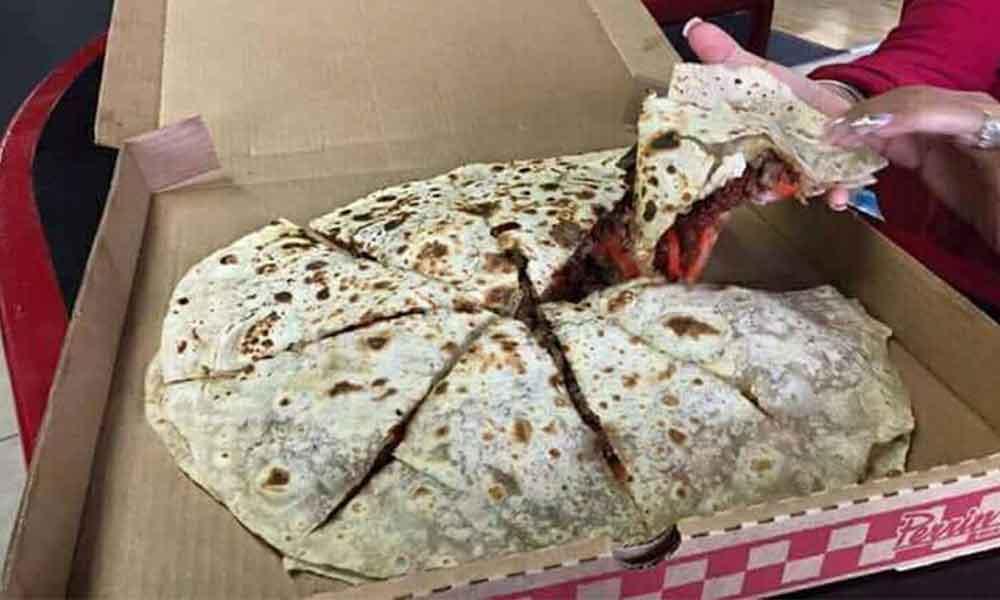 ¿Ya probaste la quesadilla más grande de Tecate?
