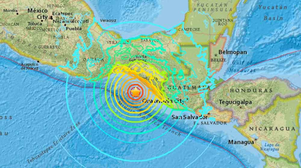 Chiapas tiembla de nuevo; dos sismos durante la noche