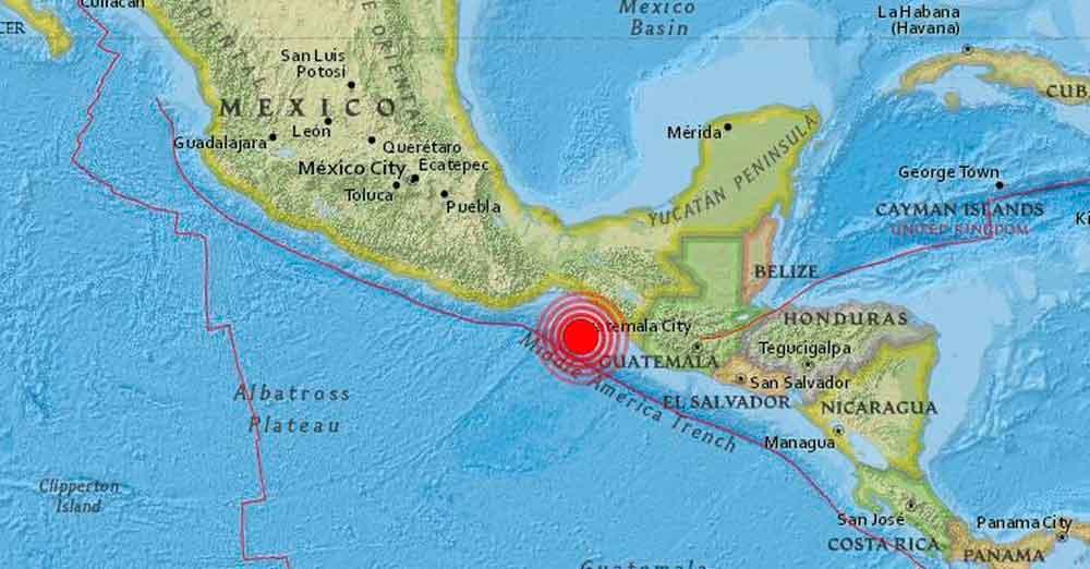 Alerta de tsunami en México tras un fuerte terremoto