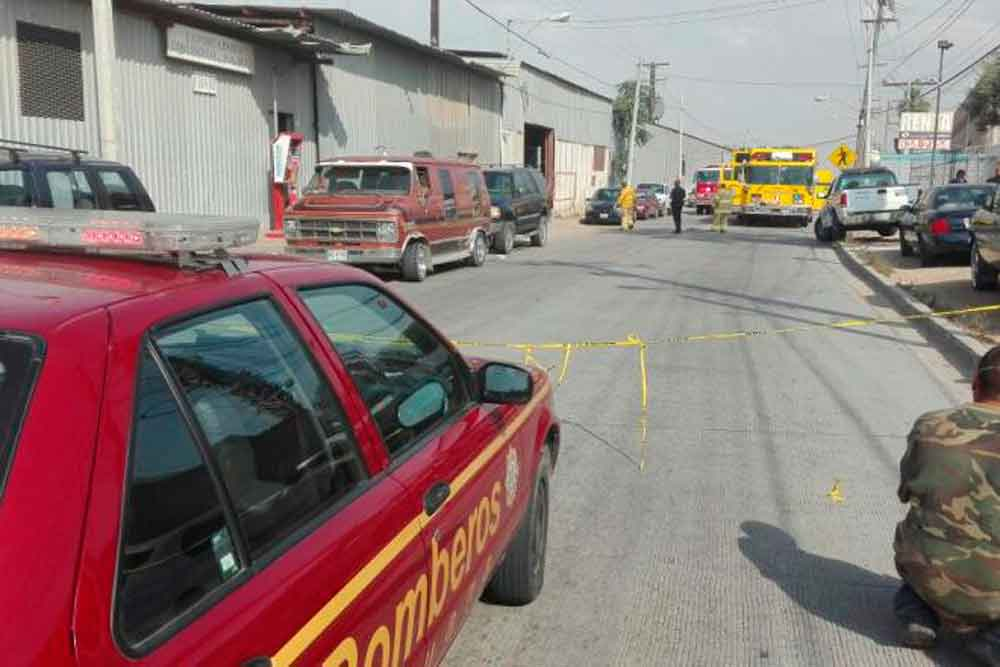 Tres lesionados en explosión de fábrica en parque industrial de Tijuana