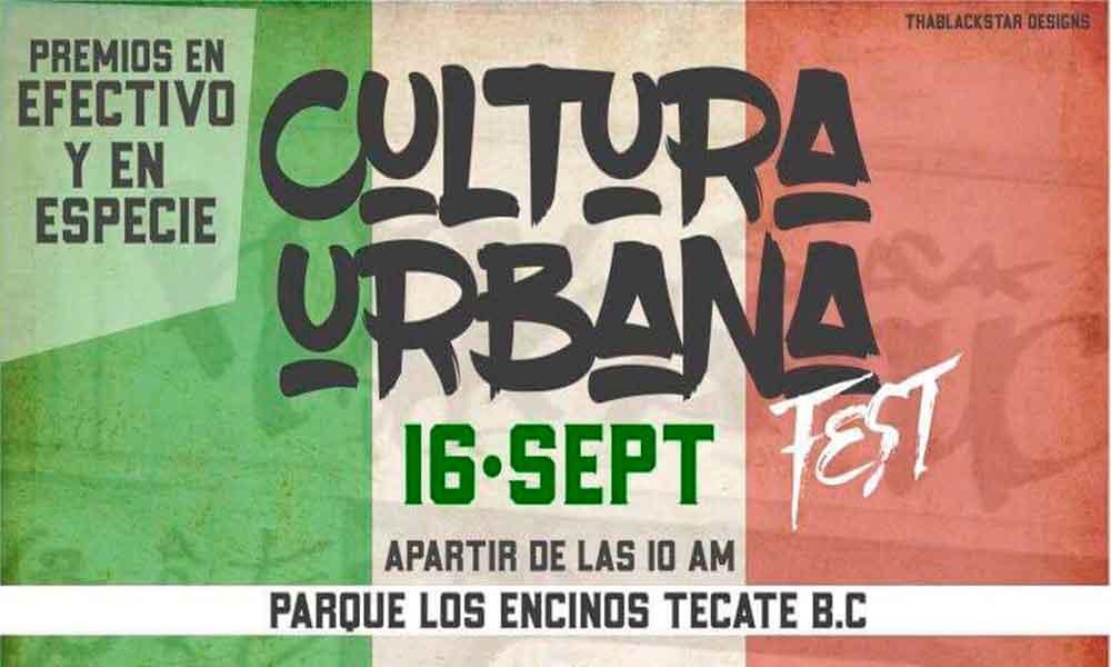 Cultura Urbana Fest será el próximo sábado