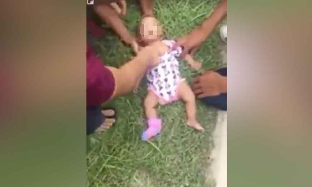Bebé pierde la vida al estrellarse contra la bolsa de aire