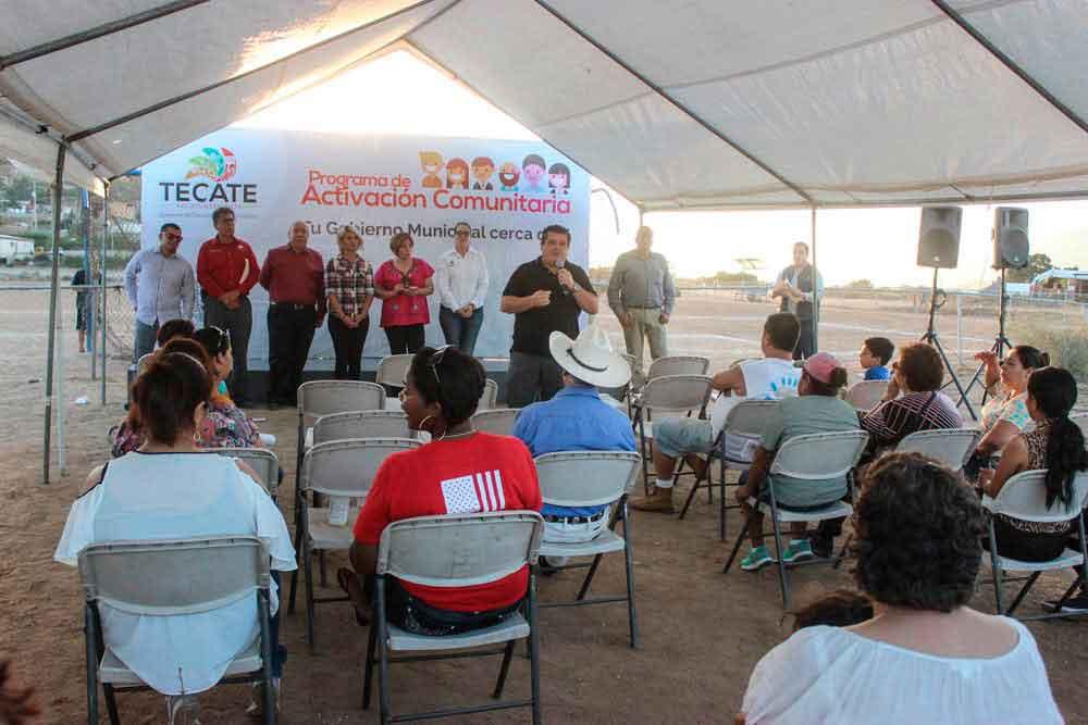 Activación Comunitaria sigue visitando colonias y zona rural