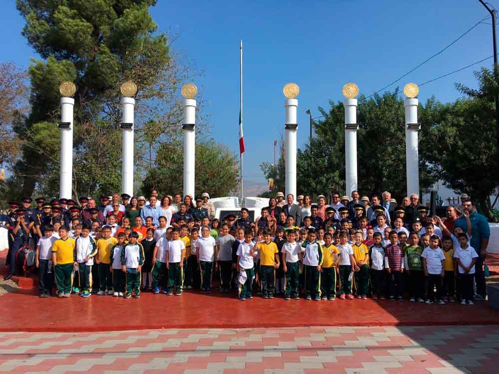 Conmemoró Ayuntamiento de Tecate el 170 Aniversario Luctuoso de la Gesta Heroica de los Niños Héroes de Chapultepec