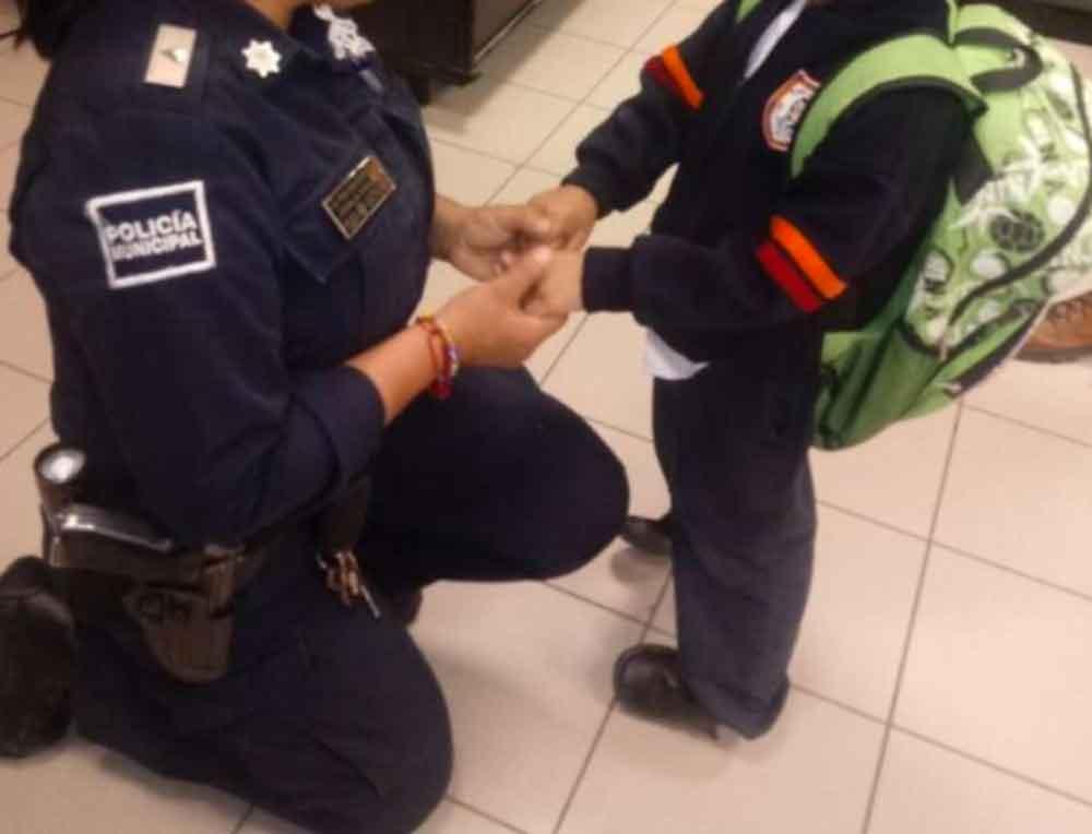 Rescatan a pequeño en Tijuana; su padre lo quemaba con un encendedor