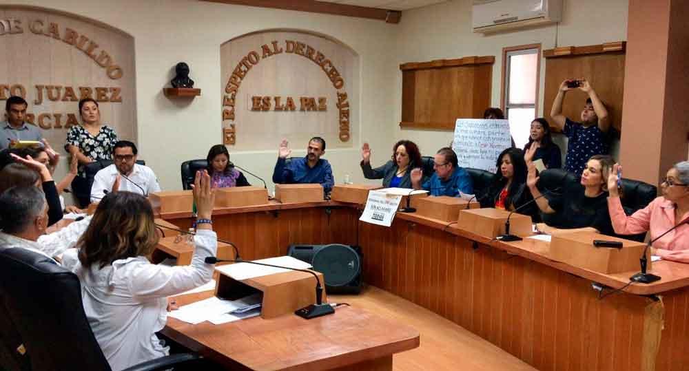 Cabildo de Tecate autoriza Convenio con el Poder Judicial del Estado de Baja California