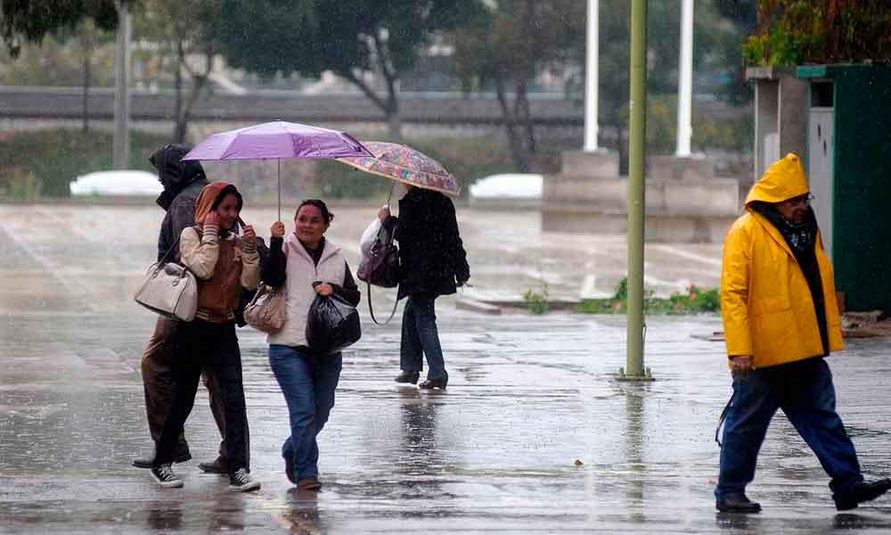 Lluvia y fuertes vientos para hoy y mañana en Tecate