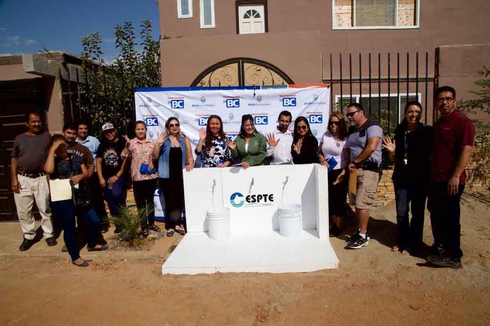 Cespte amplía red de agua potable en Tecate