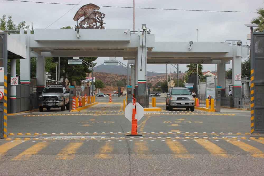 Toman medidas para el posible incremento de vehículos por la Garita de Tecate