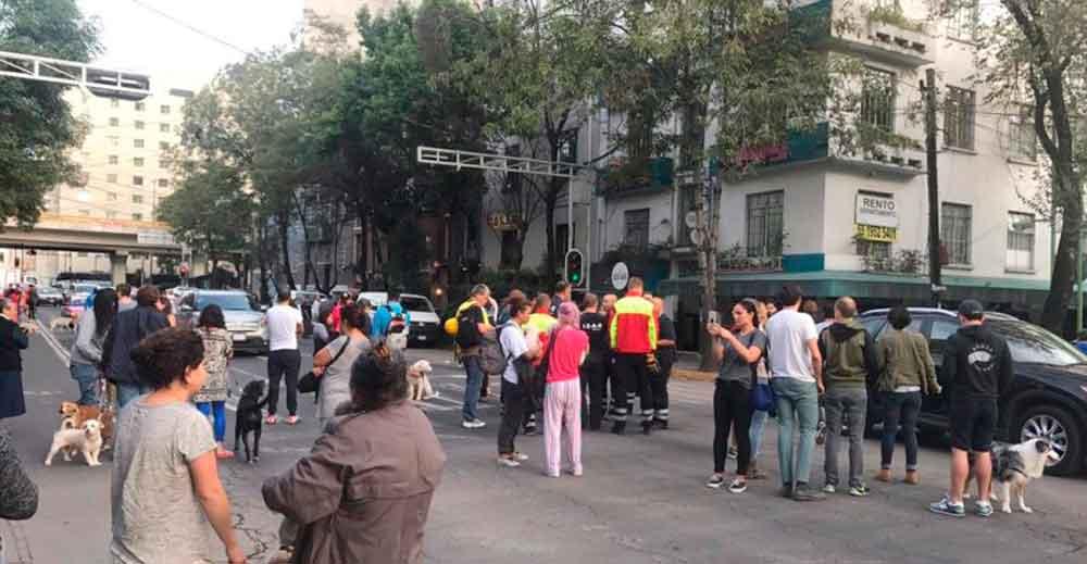Otro susto: Se registra temblor de 6.1 en México