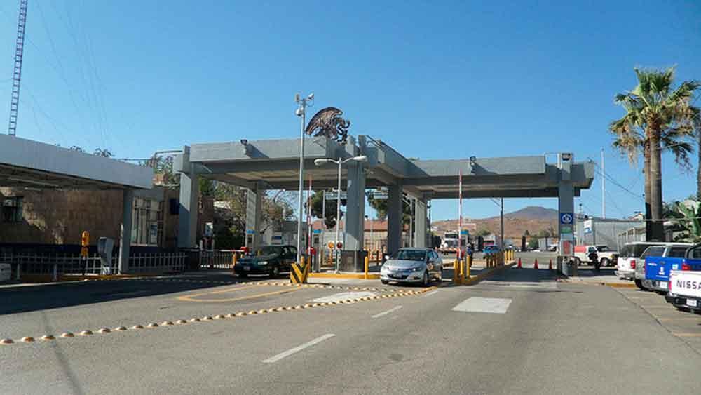 Aduana de Tecate preparada para flujo de vehículos ante cierre de garita