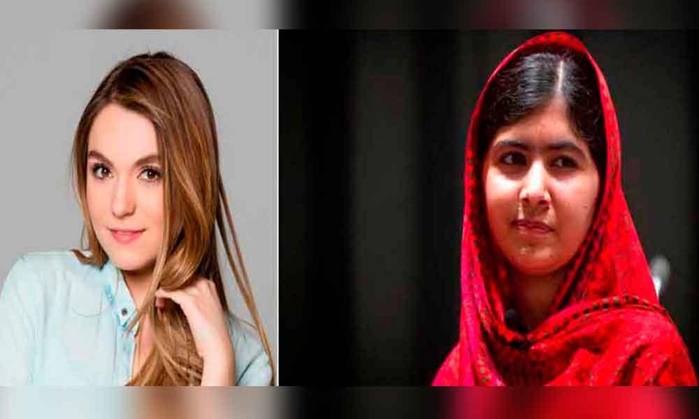 Sofía Castro, hijastra de Peña Nieto, se compara con activista Malala