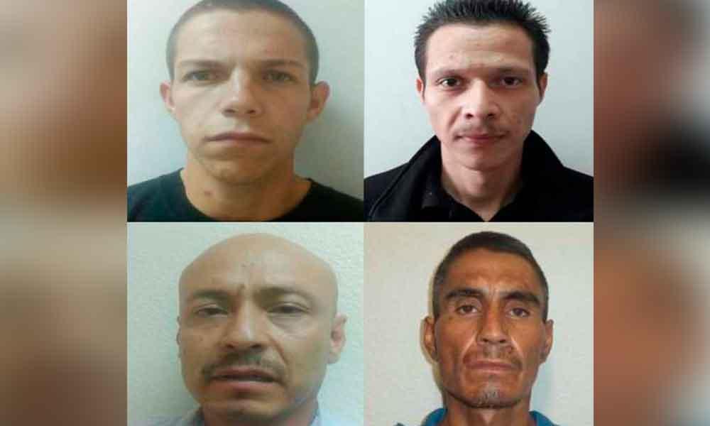 Capturan a cuatro sujetos por diferentes delitos en Tecate